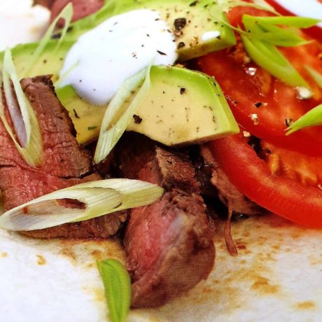 Grillsteak-Fajitas