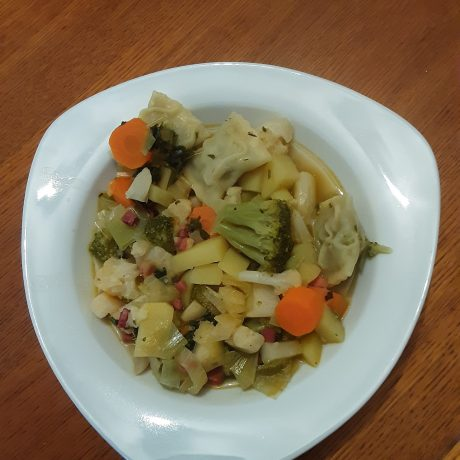 Gemüse – Maultaschen – Suppe