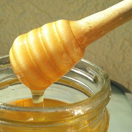 Selbstgemachter Honig aus Löwenzahn