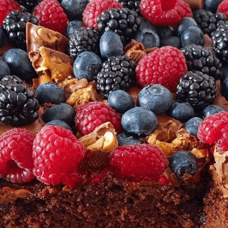 Schokolade – Vanille – Kokos – Beeren – HanfKuchen