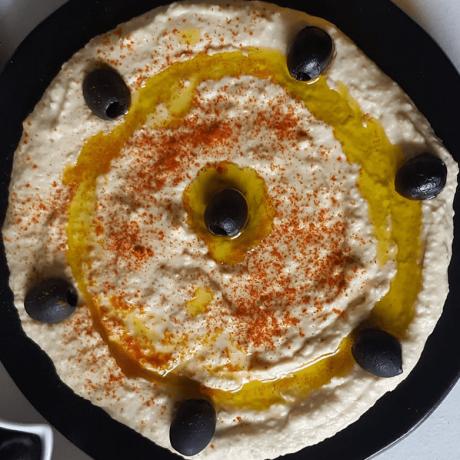 Arabischer Hummus – Kichererbsen Zitronen Dip