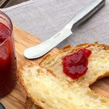 Selbstgemachtes Gelee – Erdbeer Konfitüre und gesunden Bio Zitronen