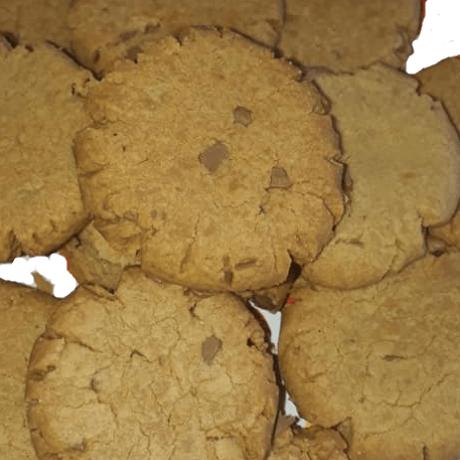 Original Amerikanische Erdnuss – Karamell – Cookies mit Ahornsirup