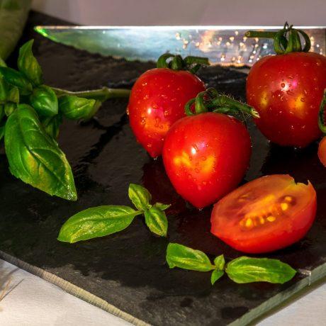 Tomaten im Schlafrock