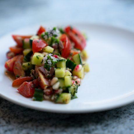 Gemischter Salat mit Schafskäse
