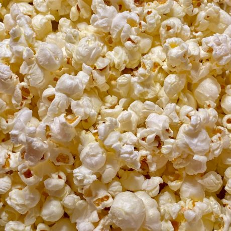 Popcorn Trüffel mit Zirtronencreme