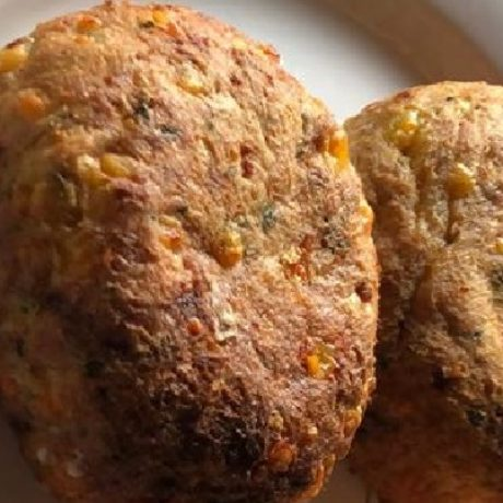 Thunfisch – Frikadellen mit Frischkäse, Knoblauch und Zwiebeln