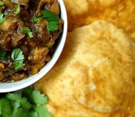 Low Crab – Vegetarisches Bhatura – Indisches Ballonbrot mit Joghurt und Gries verfeinert