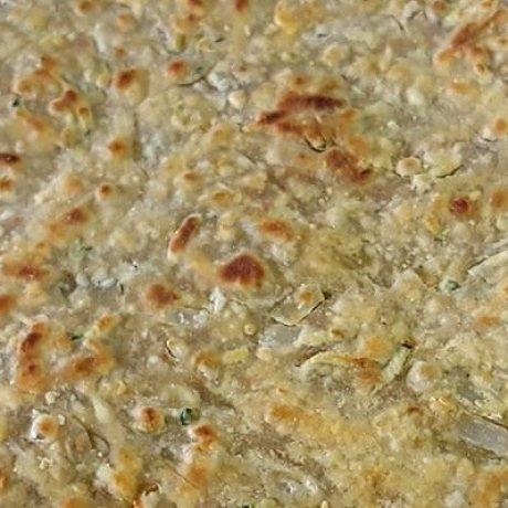 Paratha – Vegetarisches Vollkornbrot mit Zucchini, Bockshornklee, Knoblauch und grünen Chili