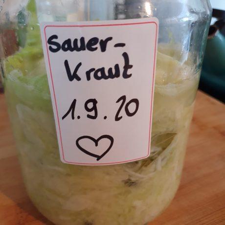 Hausgemachten Sauerkraut