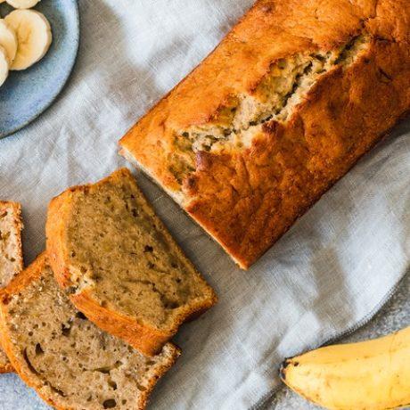 saftiges Bananenbrot — Einfaches und leckeres Rezept