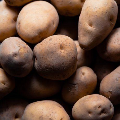 Fettarme Spaltenkartoffeln aus dem Backofen