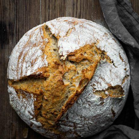 Grundteig für ein Brot