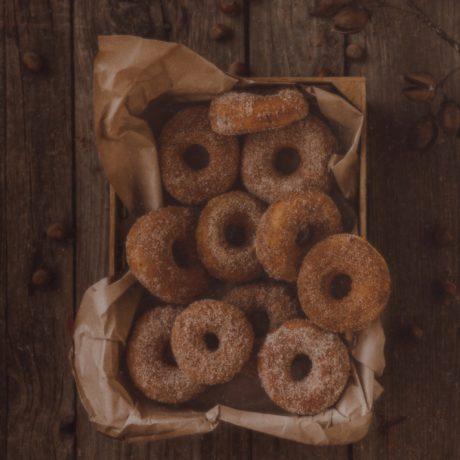 Mini-Donuts für das 12er-Donut-Blech