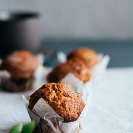 Haselnuss-Marmor-Muffins