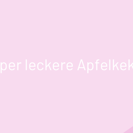 Super leckere Apfelkekse