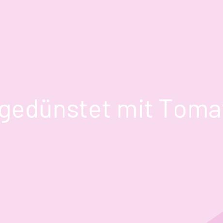 Rotbarsch gedünstet mit Tomatengemüse