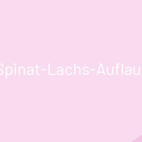 Spinat-Lachs-Auflauf