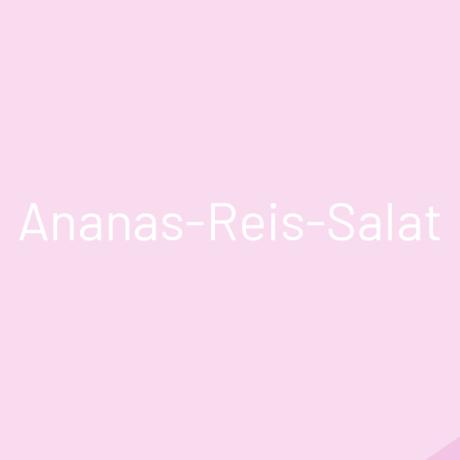 Ananas-Reis-Salat