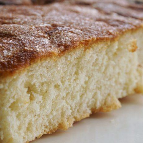 Einfacher Zuckerkuchen