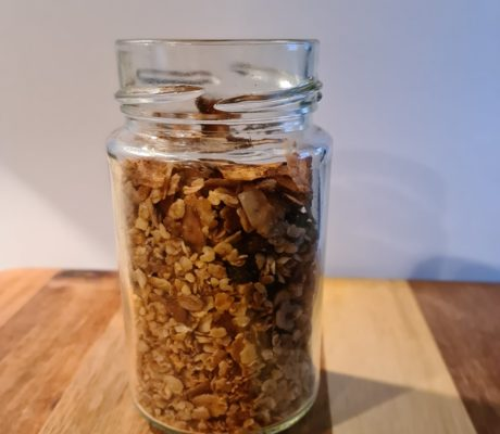 Granola selbstgemacht & zuckerfrei