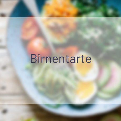 Birnentarte