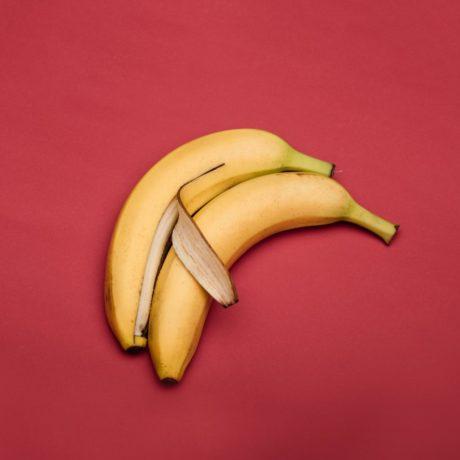 Fritierte Bananen mit Sesam