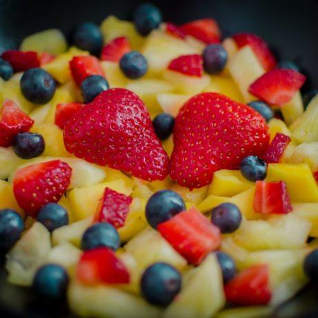 Obstalat – Nur Früchte