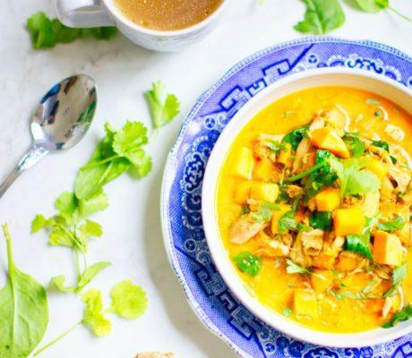 Indisches Süßkartoffel Curry