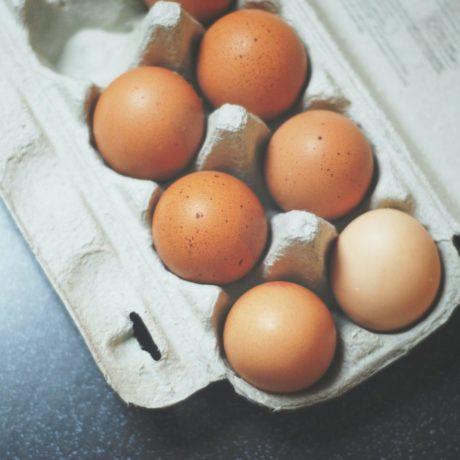 Eier im Schinkenmantel