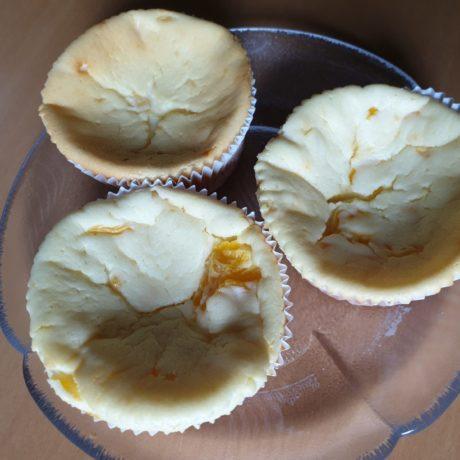 Saftige Käsekuchen Muffins mit Mandarinen